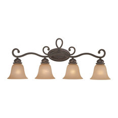Craftmade Highland Place 4-Light Vanity, Mocha Bronze