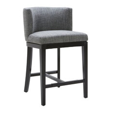 Barrel Back Stool Quarry Counter Seat