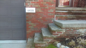Rebuild Front Steps From Footer Up Before