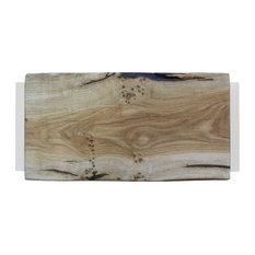 Small Natural Oak Chopping Board, Cloud White