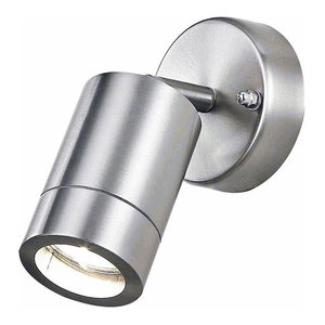 Stainless Steel Aluminium Outdoor IP44 Adjustable Wall Light