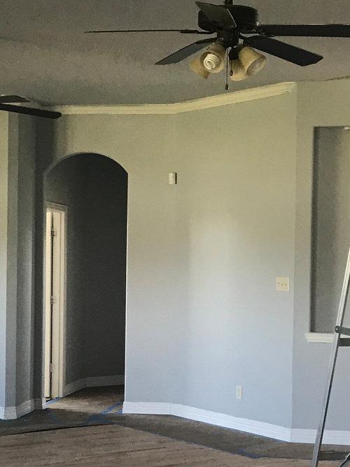 Gray Walls Look Light Blue