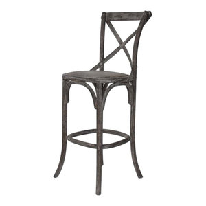 Discount Hercules Restaurant Metal Bar Stool W Padded By