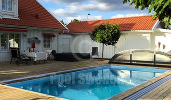 Pool Compact Rubin med designat Pooltak