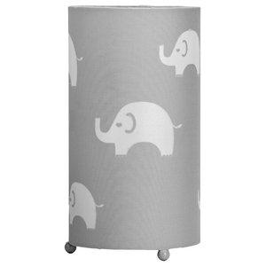 Fauna Table Lamp, Grey