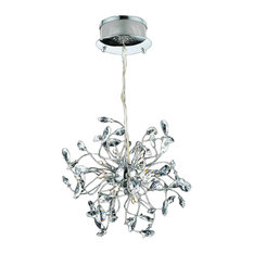 Foggia LED Crystal Chandelier, Small