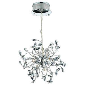 Foggia LED Crystal Chandelier, Small