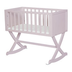 Dream On Me Haven Cradle in Blush Pink