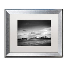 """Sainte-Laudy 'Postcards from Paradise' Art, Silver Frame, 16""""x20"""", White Matte"""