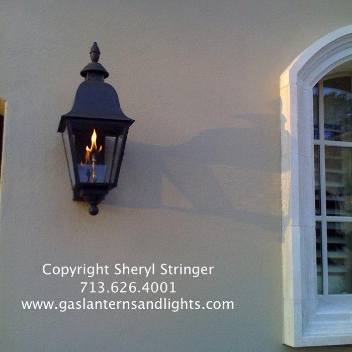 Sheryl's Tuscan Gas  Lanterns