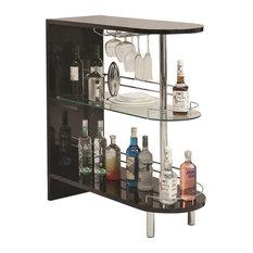 Coaster Contemporary Bar Table, Black
