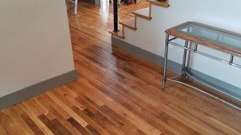 White Oak refinish New staircase