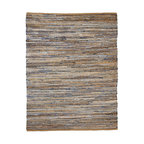 American Graffiti Denim and Jute Rug, 5