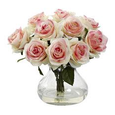 Rose Arrangement With Vase