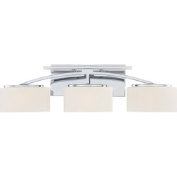 Awesome Contemporary Bathroom Vanity Lighting Arch Polished Chrome
