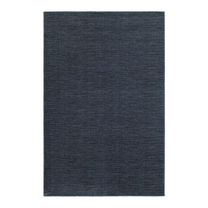 "Oriental Weavers Richmond 526B3 Navy/Gray Solid Area Rug, 5'3""x7'6"""