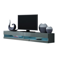 Vigo Wall Mounted Floating Modern 71-inch Tv Stand