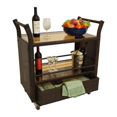 Key Largo Bar Serving Cart