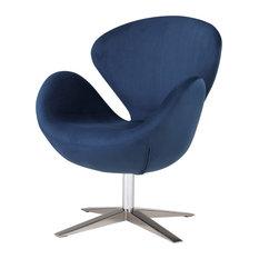 Beckett Fabric Swivel Chair
