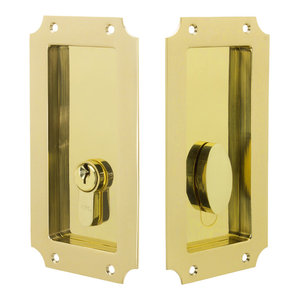 7 Inch Rectangular Cabinet Cup Pull in 10 Finishes by FPL Door Locks