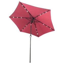 Contemporary Outdoor Umbrellas by Aleko Products