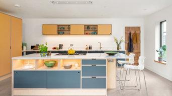 Plywood Kitchen - Shiplake