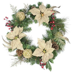 Traditional Wreaths And Garlands by Northlight Seasonal