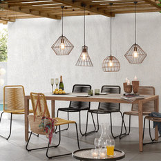 scandinavian outdoor furniture. corvette table paired with the meagan chair for alfresco living outdoor dining sets scandinavian furniture r