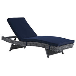 Tropical Outdoor Chaise Lounges by Furniture East Inc.