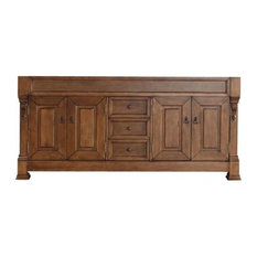 "71"" Brookfield Double Cabinet, Country Oak, No Top"