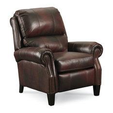 lane furniture hogan high legleather recliner dark brown recliner chairs