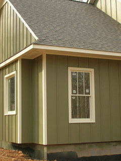 Dimensions For Board And Batten Siding