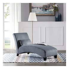 Chaise Lounge, Gray
