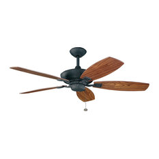 rustic ceiling fans | houzz