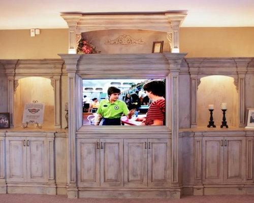 Lou Vaughn Interiors - Media Center Display - Media Storage