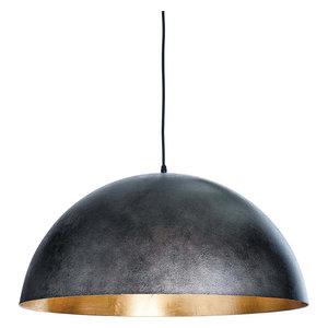 Sigmund Pendant - Blackened Steel, Large