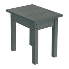 Generations Small Side Table, Slate Gray