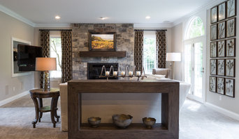 Zionsville Living Room and Sun Room