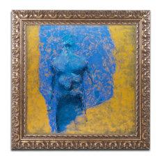 "Joarez 'Explosao' Ornate Framed Art, 11""x11"""
