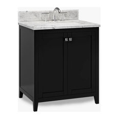 All In One Espresso Vancouver 31-inch Single Sink Bathroom Vanity