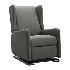 Baby Relax Kingsley Gliding Recliner, Gray