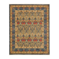 Traditional Stirling 8'x10' Rectangle Denim Area Rug