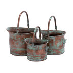 Ritter 3-Piece Metal Planter Set