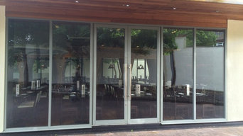 Complete new frontage of a high end Restaurant in Birmingham