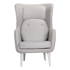 Asherville Armchair, Light Gray