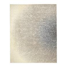 "Twilight Rug, Ivory/Gray, 7'9""x9'9"""