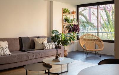 90 m² superaprovechados en el piso de una pareja de sanitarios