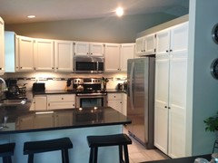 Budget Kitchen Makeover - 2 tone cabinets?