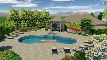 3D Pool and Hot-Tub Design