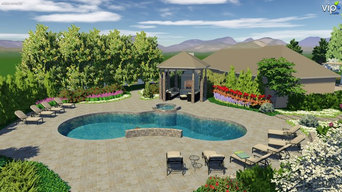 3D Pool and Hot-Tub Design